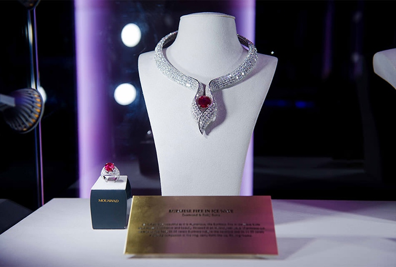 Mouawad Introduces New Watch Collections and Showcases Magnificent Jewellery